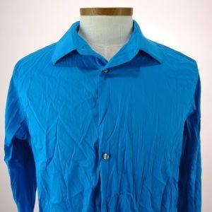 Alfani Men's Long Sleeve Dress Shirt  L NWOT